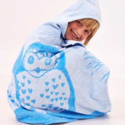blue owl towel