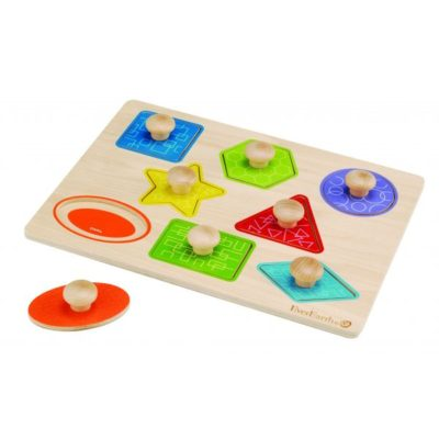 EverEarth Pull Out Shape puzzle