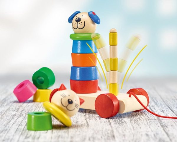 Educational Montessori stacking toy