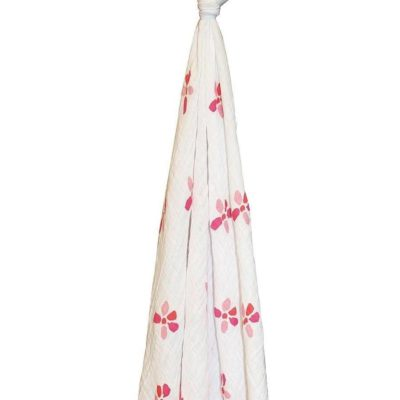 aden anais organic swaddle bloom