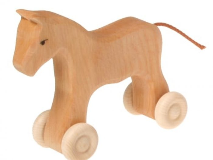 grimms small wooden horse