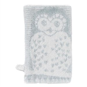 Breganwood Organics Grey Owl bath Mitt