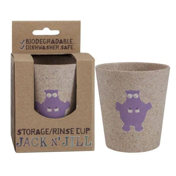 Jack N Jill hippo rinse cup and storage