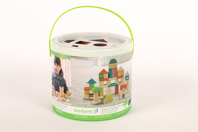 Bucket and shape sorter lid