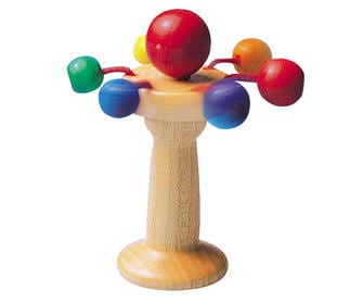 Selecta Carello Wooden Rattle