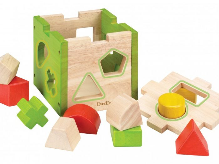 everearth shape sorter box