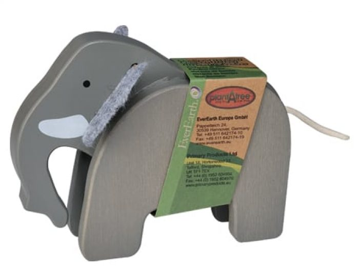 everearth bamboo elephant packaged
