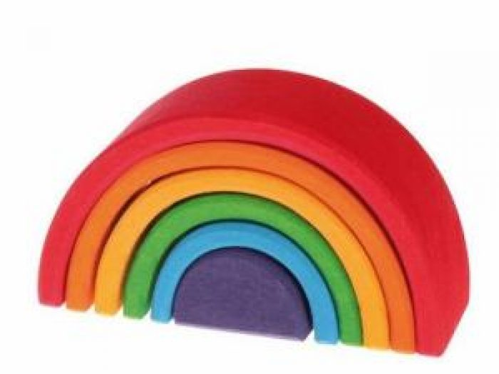 grimms wooden rainbow small