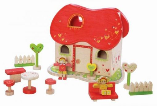 EverEarth Fairy Tale Wooden Dolls House