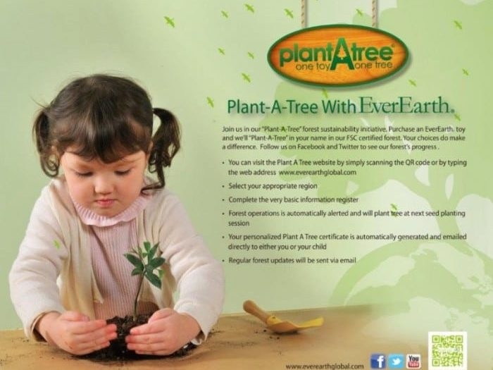 Plant A Tree with Everearth
