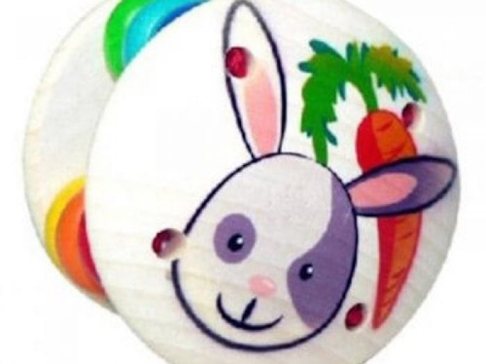 Hess Spielzeug Grasping Toy/Rattle Bunny