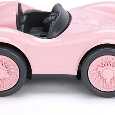 Eco pink race car toy
