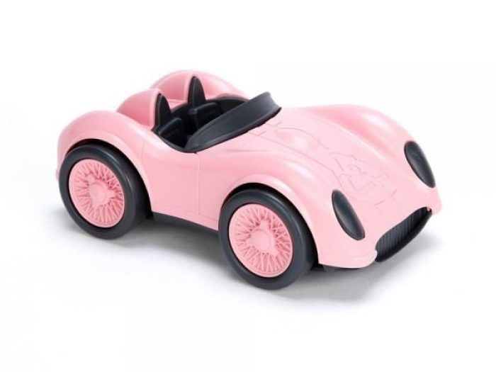 green toys car pink