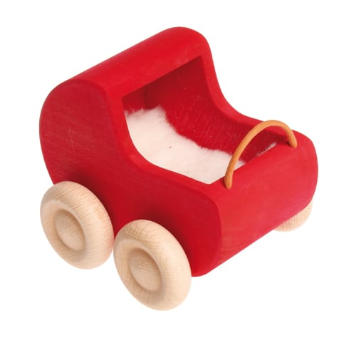 Grimms Wooden Dollhouse Pram
