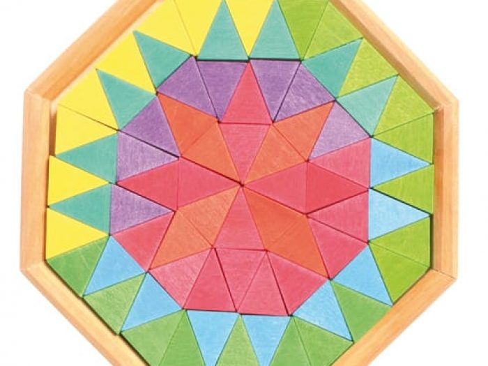 Grimm's Small Octagon Mosaic Puzzle