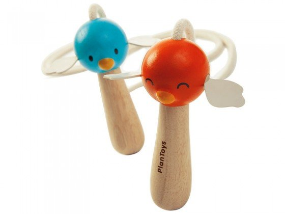 Plan Toys Jumping Rope with bird handles