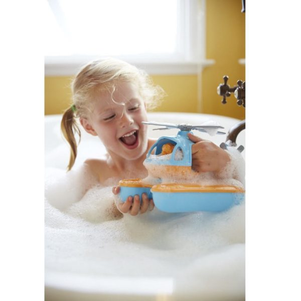 Seacopter bubble bath toy