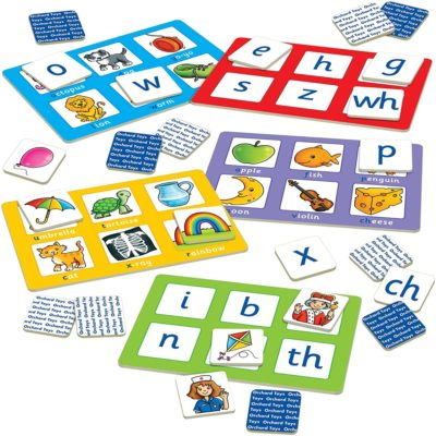 Orchard Toys award winning alphabet lotto game
