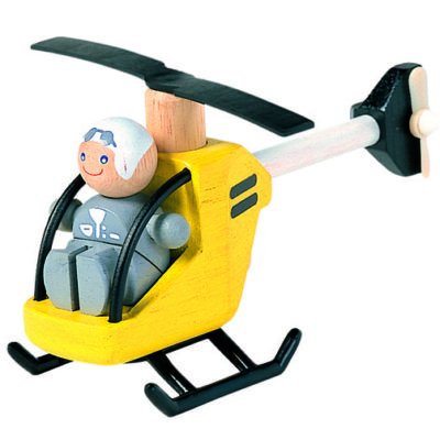 Plan Toys Helicopter with Pilot