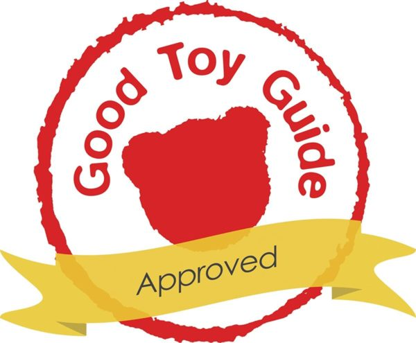 Awarded Good Toy Guide Approved Logo