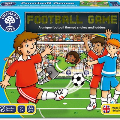 Football board game in its box