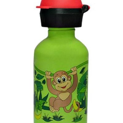 Cheeki 350ml Kids Water Bottle Monkey