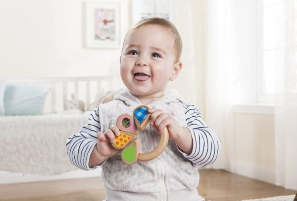 EverEarth Bell Rattle Toy