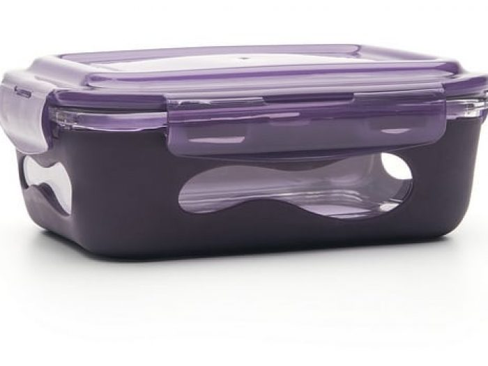 u konserve glass container eggplant
