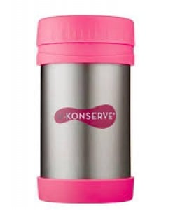 u konserve insulated food jar neon pink