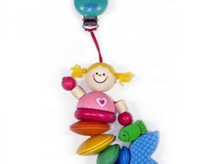 Hess Spielzeug Clip On Toy Mermaid