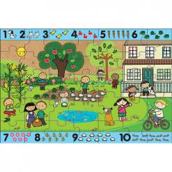 green start giant floor puzzle