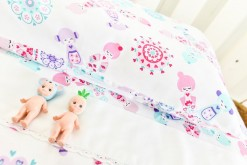 Doll picnic sheet set detail