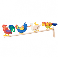 Wooden Doddering toys Fauna