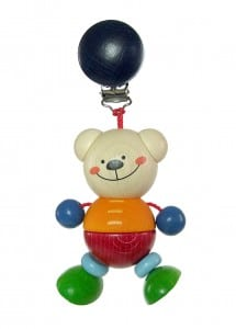 hess-spielzeug clip-on toy bear henry