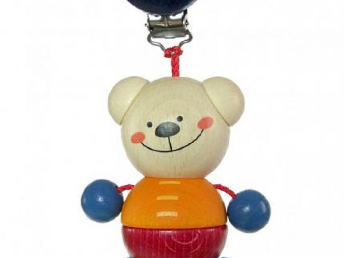 clip on toy bear henry