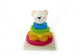 hess-spielzeug stacking bear timmi