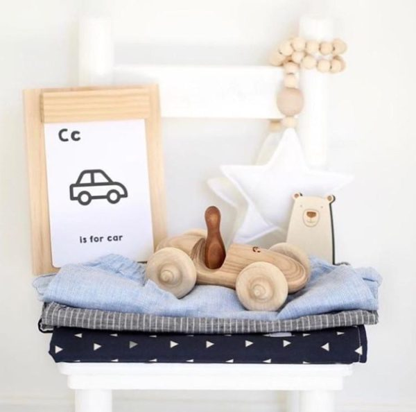 Natural toys for kids rooms