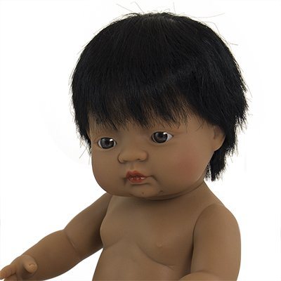 Boy hispanic doll for kids