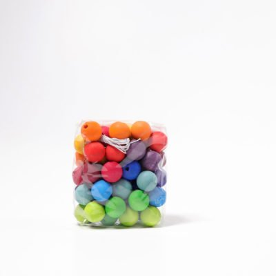Grimms Wooden Beads 60 x 20mm